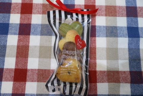 ハートクッキー(4種類)