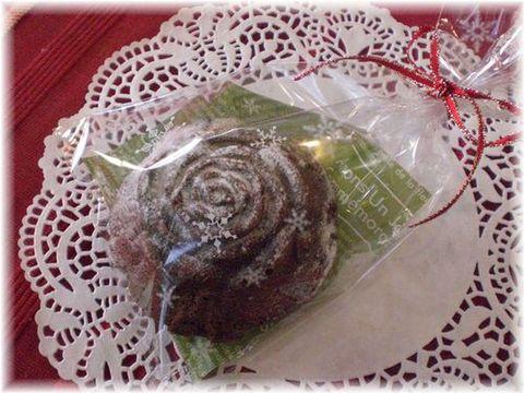 薔薇型ガトーショコラ