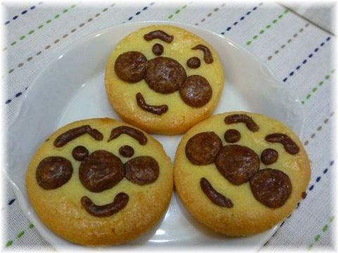 アンパンマン風クッキー