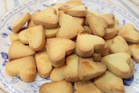 さくさくクッキー(ハート型4個入り)