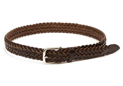 P1127-BELT DARK BROWN