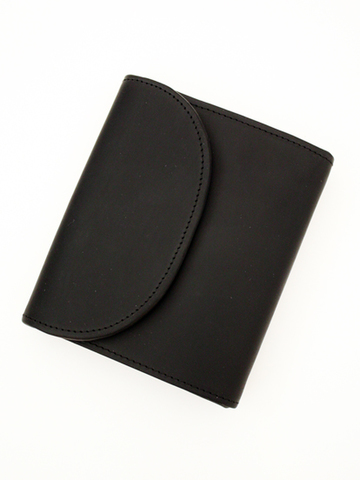 OW-1058-Small 3 Fold Wallet-Black