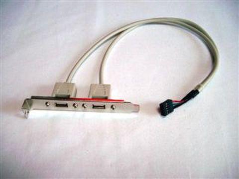 マザーボード用 USBコネクタ(2ポート)