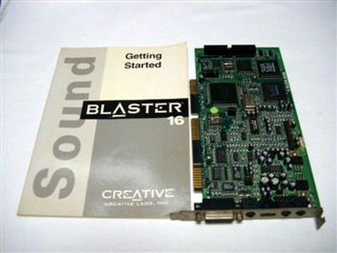 サウンドカード SOUND BLASTER 16ASP(CT1740)