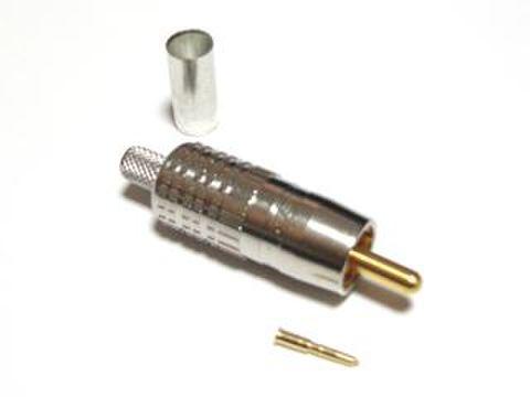 カナレ電気 RCAピンプラグ(圧着タイプ) RCAP-C3A