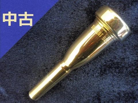 【中古トランペット・マウスピース】VINCENT BACH メガトーン 3C GP