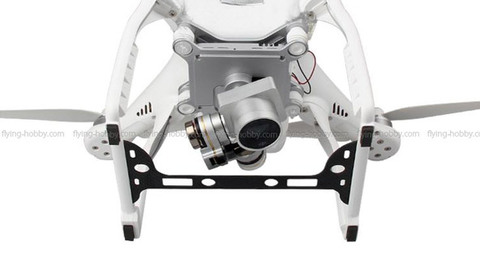 Carbon Fiber Camera Protection Board for DJI Phantom 3