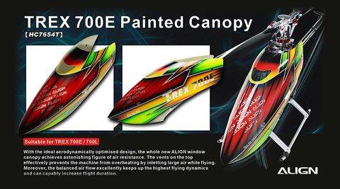 700E 塗装済みキャノピー 【HC7654】特価品