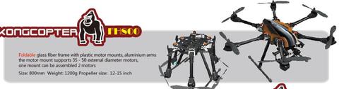 X-CAM Kongcopter FH800