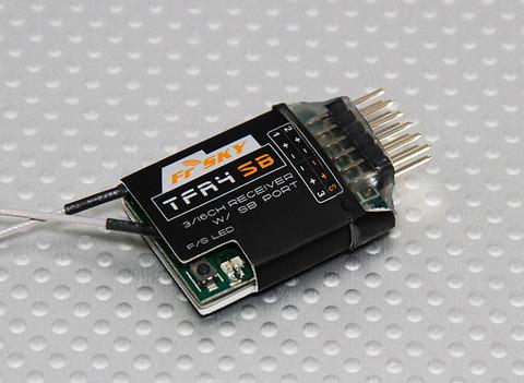 FrSky TFR4 SB 3/16ch 2.4Ghz S.BUS Receiver FASST 双葉純正互換
