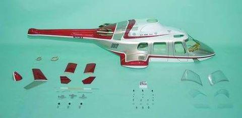 550クラス用 Bell222 赤(FUN-Key)予約