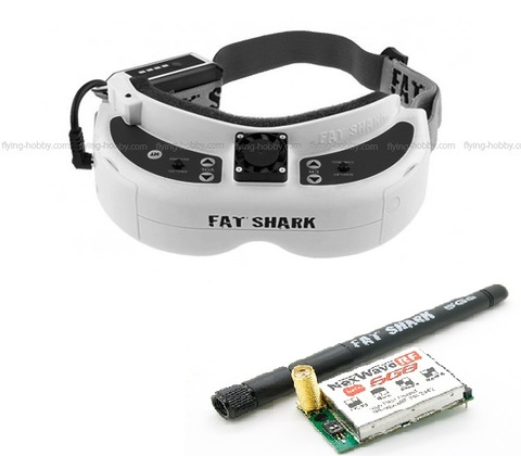 Fatshark Dominator HD2 FPV Goggles 5.8GHzモジュール付