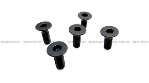 SAB DIN 12.9 Flat Head Socket Cap M3x8 (5pcs) HC134-S