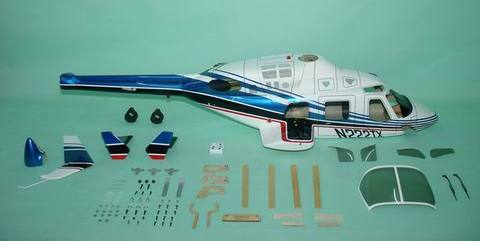 600クラス用 Bell222 Blue(FUN-Key)予約