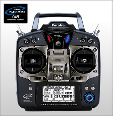 FUTABA [00008433-3]10JH-R3008SB ヘリコプター用T/Rセット※数量限定