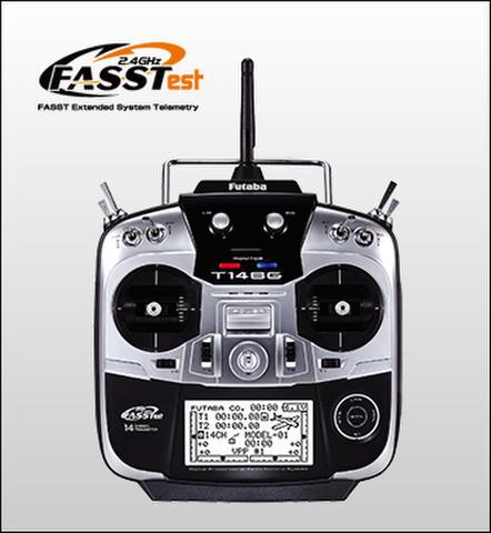 双葉14SG送信機 飛行機用 単品(電池付)