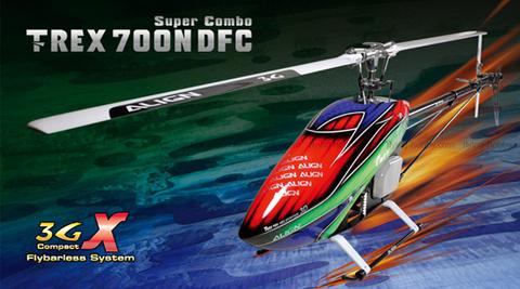 T-REX 700 Nitro DFC スーパーコンボ RH70N01XW