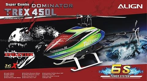 T-REX450L DOMINATOR Super Combo RH45E10XW