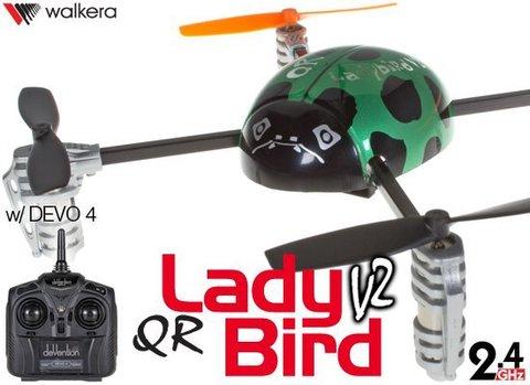 Ladybird 4ch UFO QR V2 w/ 4ch (モード1日本仕様)