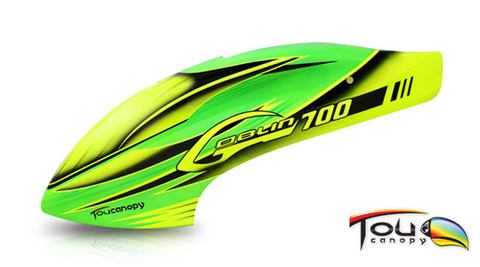 GOBLIN700用キャノピー(グリーン)
