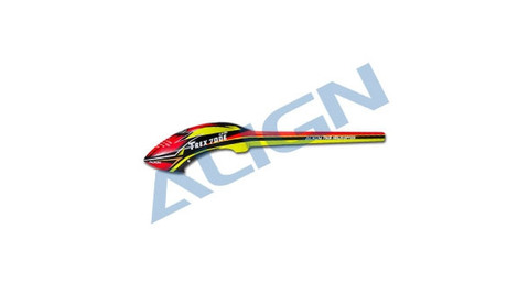 特別価格 1点限り 700E Speed Fuselage – Red & Yellow Model: HF7005