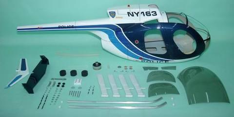 700クラス用 Hughes 500D BLUE(FUN-Key)予約