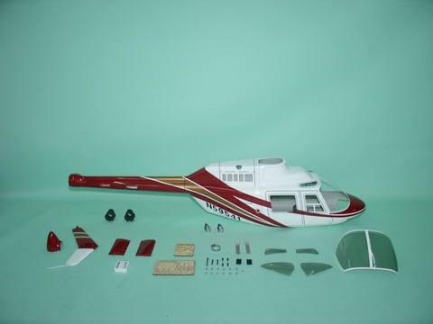 550クラス用  Jet Ranger 赤(FUN-Key)予約