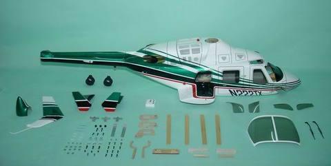 600クラス用 Bell222 Green(FUN-Key)予約