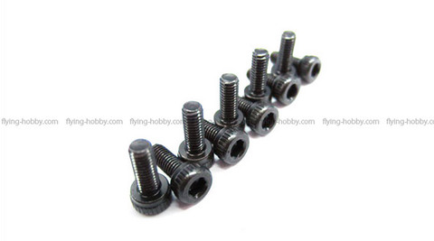 SAB Socket Head Cap M3x10 (10pcs) HC056-S