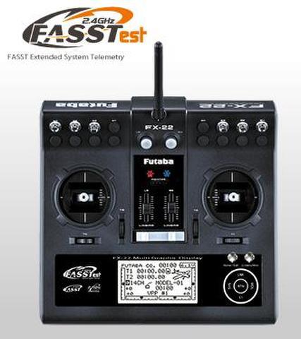フタバFX-22 送信機のみ(電池付)
