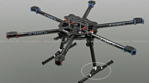 TAROT IRON MAN FY680 Hexacopter Kit (600 Size) TL68B01