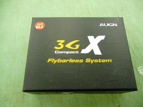 ALIGN 3GXジャイロ V2.1