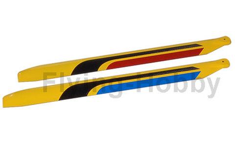 RotorTech 430mm 3D CF Blades H4366C-3D