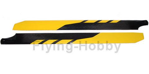 RotorTech 600mm CF Blades H6001C