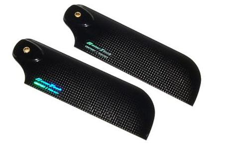 Rotor Tech 105mm Carbon Fiber Tail Blades H1056C