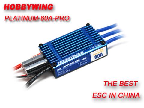 HobbyWing Platinum 60A PRO ESC