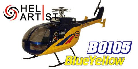 HeliArtist BO105 (ブルー)