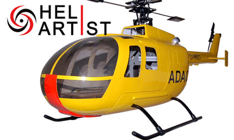 HeliArtist BO105 (イエロー)