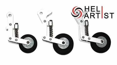 スケールヘリ用金属製オレオタイプ引込脚