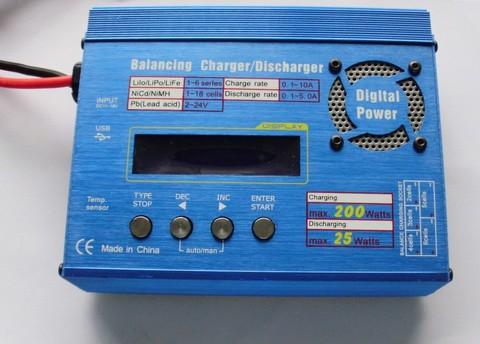 クイック製バランス充電器 10A200Wタイプ