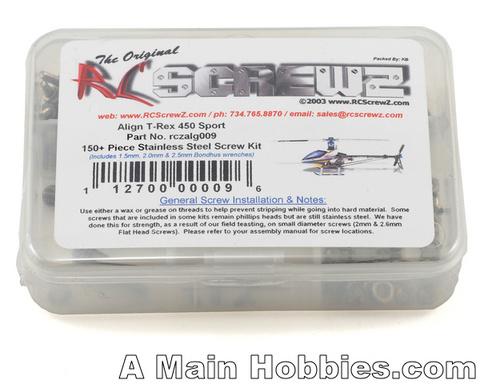 ALIGN T-REX450SPORT用ステンレスビスセット1機分