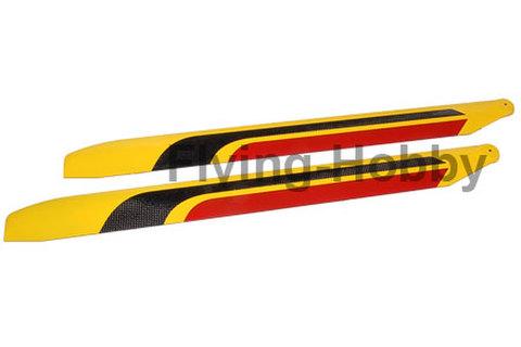 RotorTech 610mm CF Blades  H6166C-3D