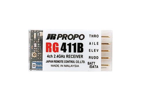 RG411B DMSS 2.4GHz 4ch受信機(パークフライト用)