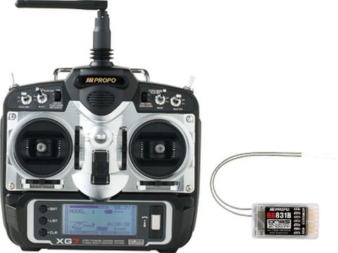 XG7 TRG DMSS 2.4GHz方式 8ch受信機セット