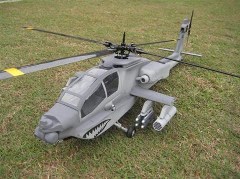 T-REX600用 H-64Aアパッチ