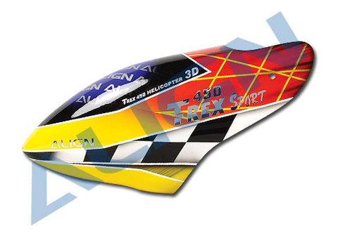 T-REX450SPORT用FRPキャビン④