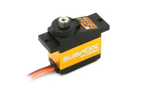 SAVOX SH-0262MG 電動ヘリ用デジタルラダーサーボ
