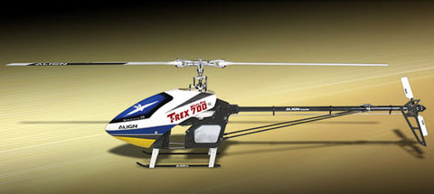 T-REX700ニトロLTD機体のみ(ローター付属)