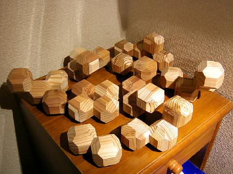 切稜立方体ブロックセット25