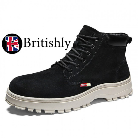 Chelsea Boots British Trendy mkⅠ 7cmアップ